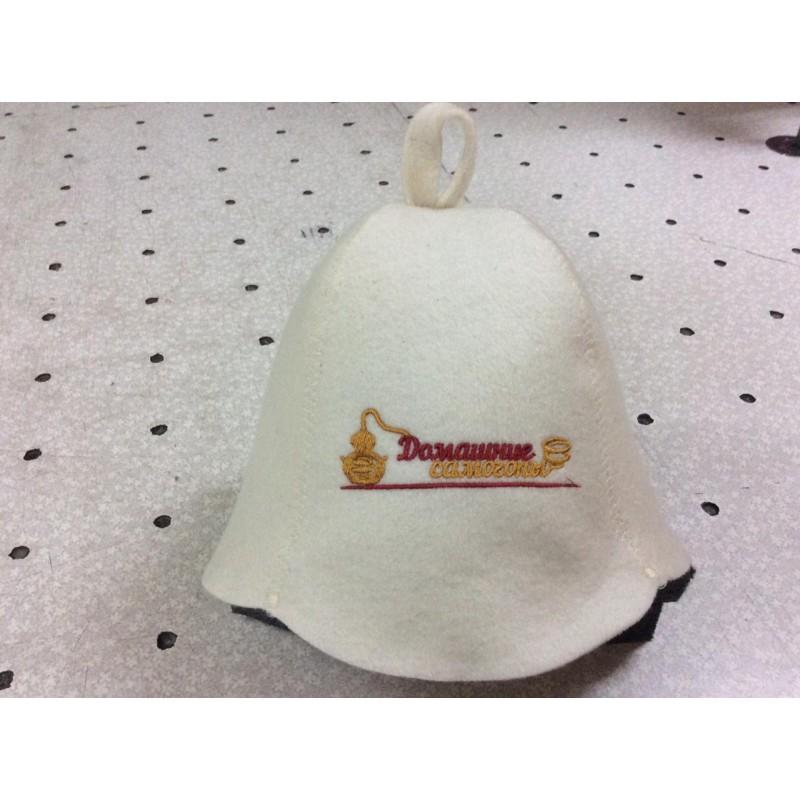 Фирменная шапка для бани Домашние Самогоны