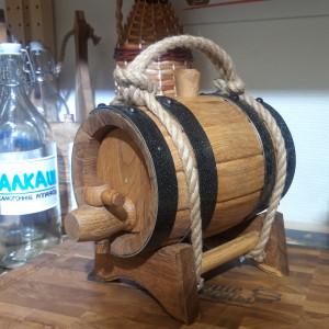Бочка фирменная (ПРЕМИУМ) 1 литр с подставкой