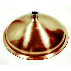 Крышка купольная медная на куб Luxstahl 37 л кламп (2 дюйма)