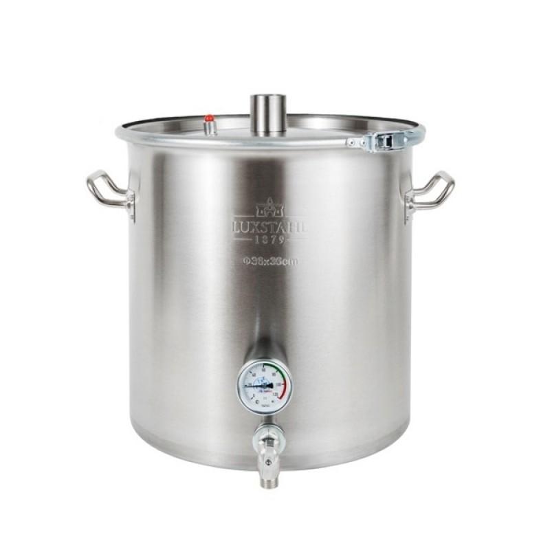 Перегонный куб Luxstahl 25 литров кламп 1,5