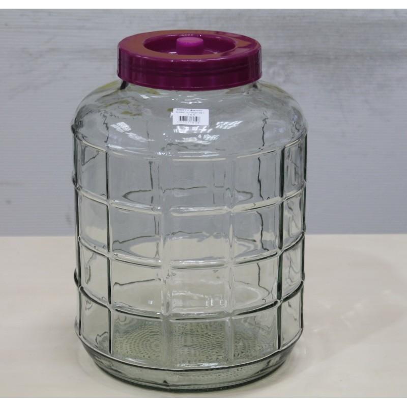 Банка стеклянная АЛКАШ с гидрозатвором 18 л