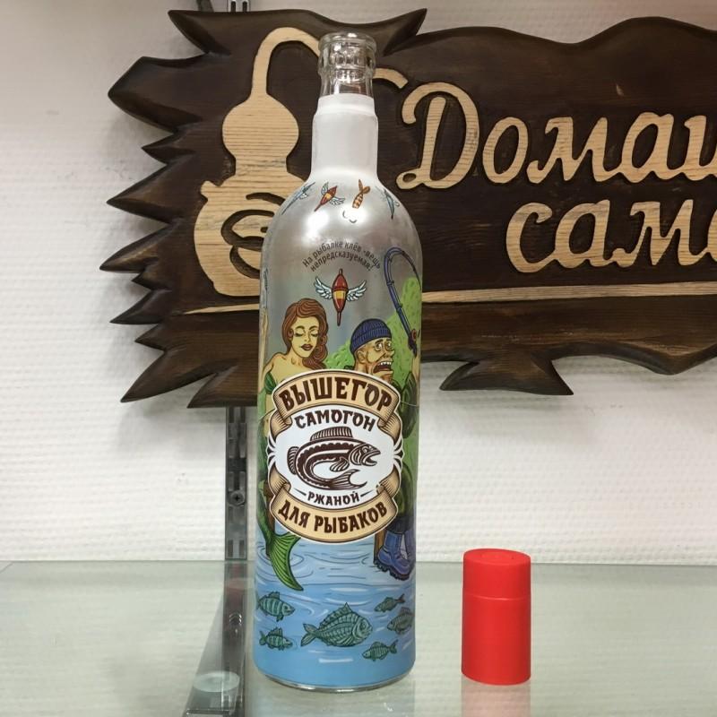 Бутылка АЛКАШ в ассортименте с дозатором 1 л.