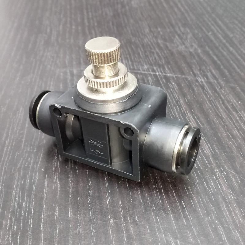 Кран игольчатый «Push» тонкой настройки, Ø = 10 мм