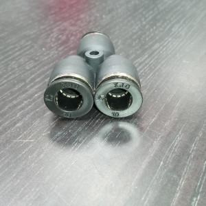 Тройник-разветвитель Push Y-образный (латунь) на 10 мм для шлангов