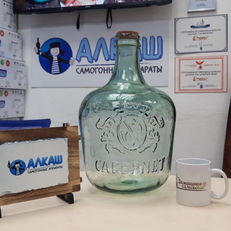Бутылка стекло GARRAFA CABERNET 12 литров