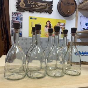 Набор бутылок Бэлл 0,7 л с пробками (8 шт)