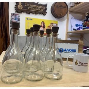 Набор бутылок Бэлл 0,5 л с пробками (9 шт)