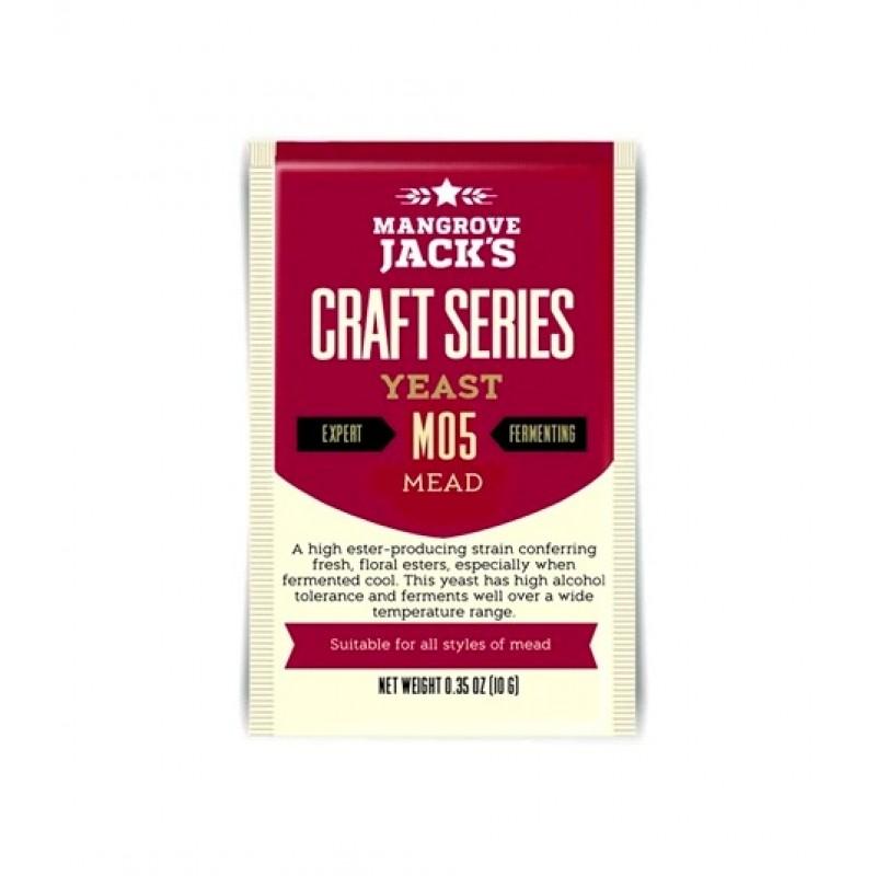 Дрожжи Mangrove Jack's M05 Mead, 10 гр