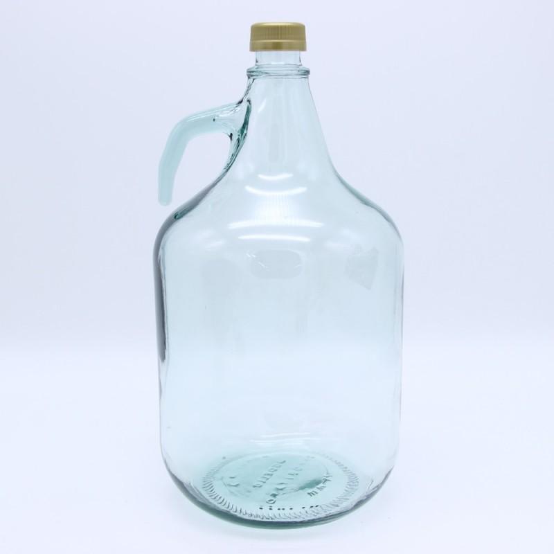 Бутыль для вина Дама 5 л с завинчивающейся пробкой без корзины