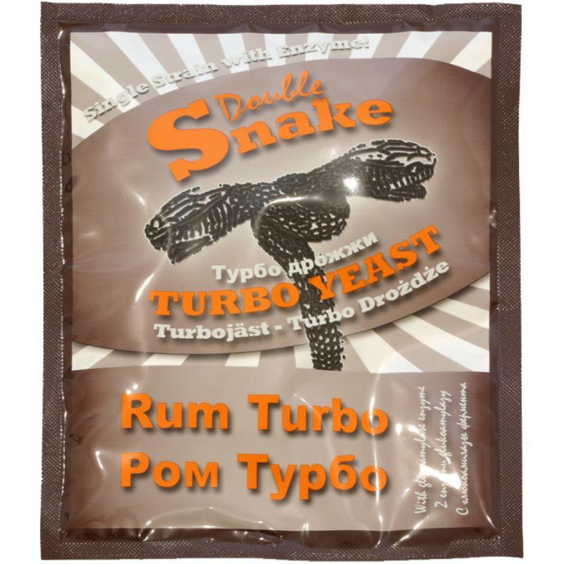 Турбо-дрожжи DoubleSnake Rum