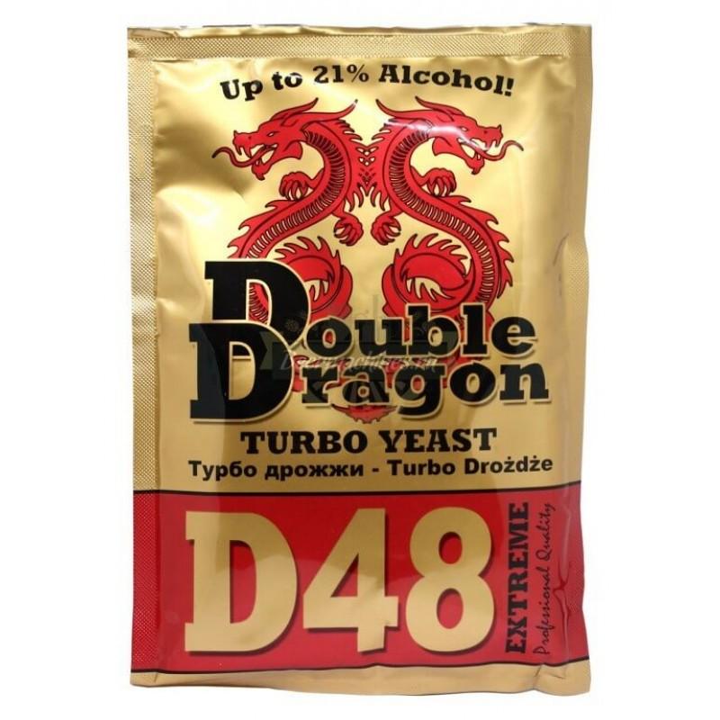 Турбо дрожжи Double Dragon 48