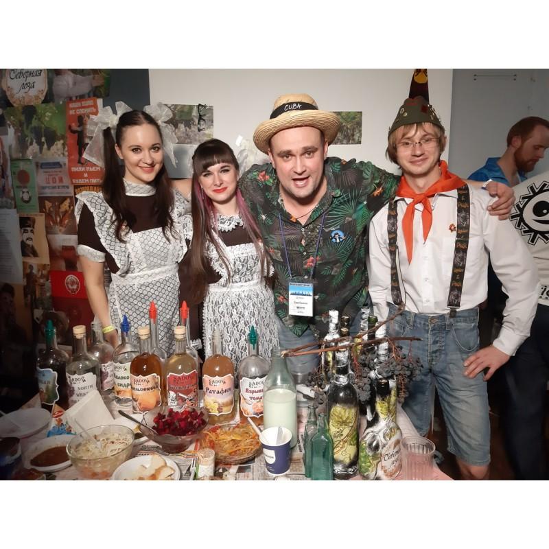 Фото с фестиваля самогоноварения Ленгранстакан 3 (26.10.2019)