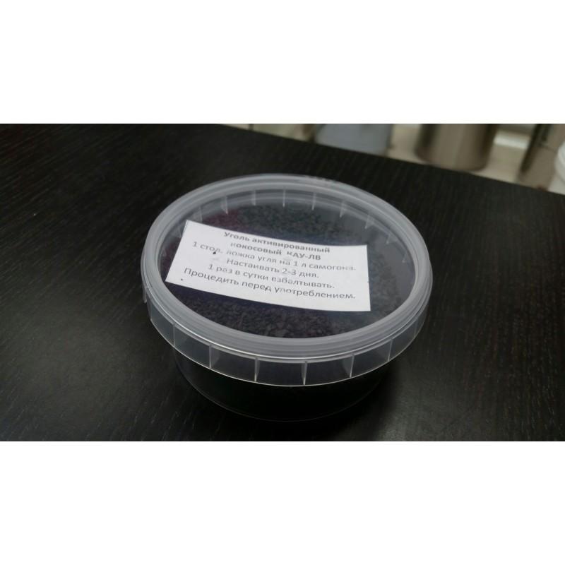 Уголь кокосовый активированный марки КАУ-А 150 грамм